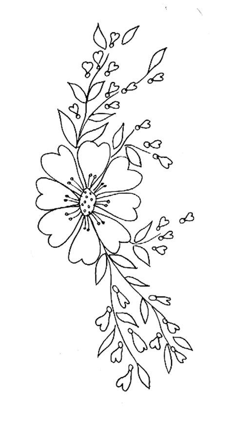 coloriage d une composition florale   Tête à modeler