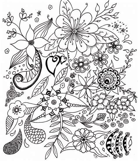 Coloriage De Fleurs De Printemps A Imprimer – Gratuit ...