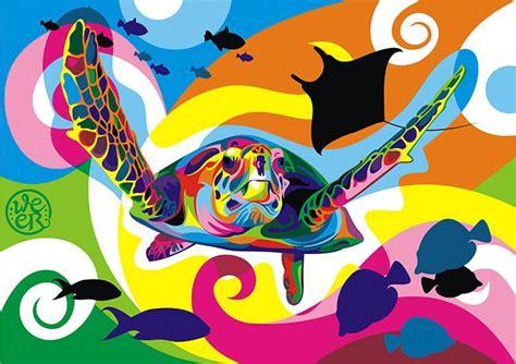Coloridas Ilustraciones Vectoriales de Animales por Wahyu ...