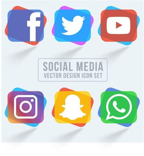 Colorido paquete de iconos de redes sociales | Descargar ...