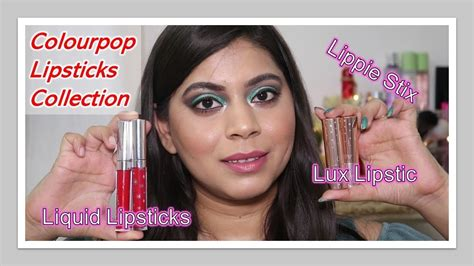 ColourPop Lipsticks Review & Swatches   LUX lipsticks ...