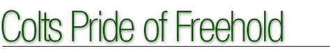 Colts Pride of Freehold   Home Page