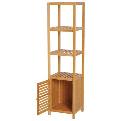 Columna de baño con estantes HomCom 834 150   Comprar a ...