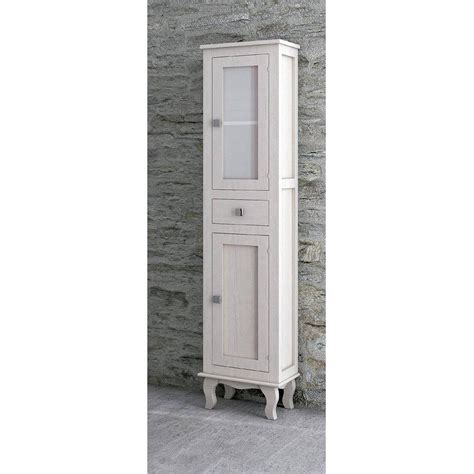 Columna de baño de 175x43x33cm Miro blanco roto ...