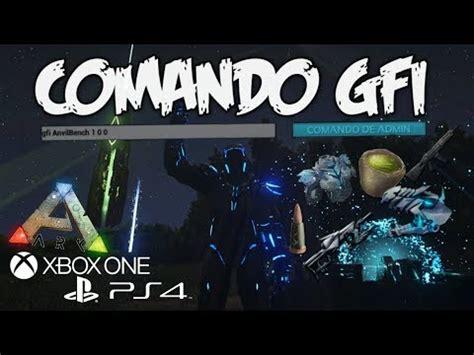 COMANDO GFI, XBOX/PS4/PC   EL MEJOR COMANDO!!!   ARK ...