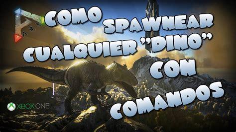 Comandos para spawnear cualquier  Dino    Ark Survival ...