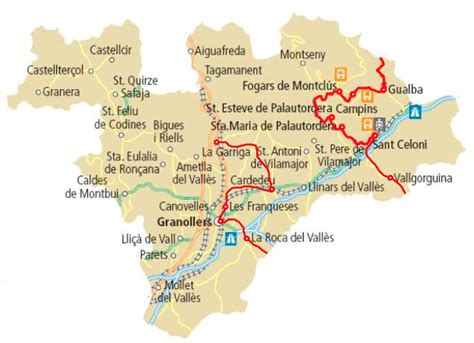Comarca Vallès Oriental al elcamí.cat