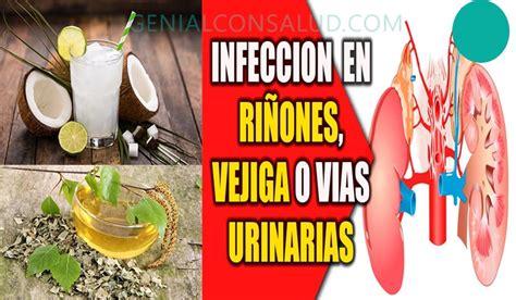 Combatir las infecciones de la vejiga con remedio casero