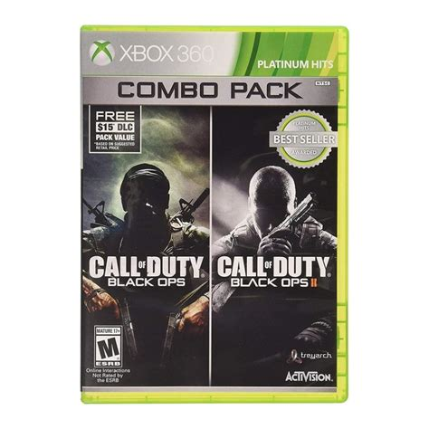 Combo Call of Duty Black Ops 1 y 2 Xbox 360 Físico ...