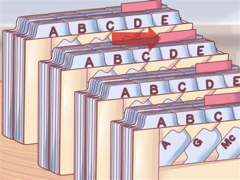 Come Archiviare Documenti in Ordine Alfabetico