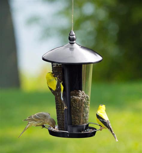 Comedero Alimentador Para Aves Y Pajaros Semillas Y Frutos ...
