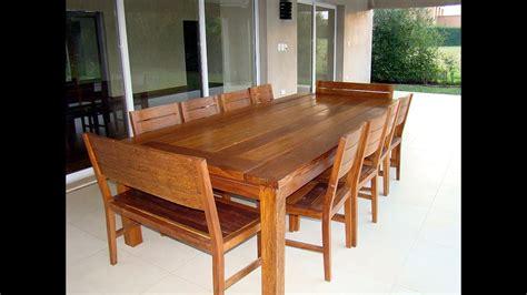 Comedores de madera | del arbol.com.ar | Muebles de madera ...