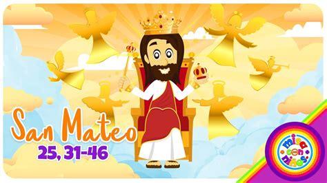 Cómic Evangelio Animado Domingo Cristo Rey San Mateo 25 ...