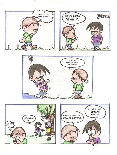 Comic Manual en Ingles   comicenelauladeclase8