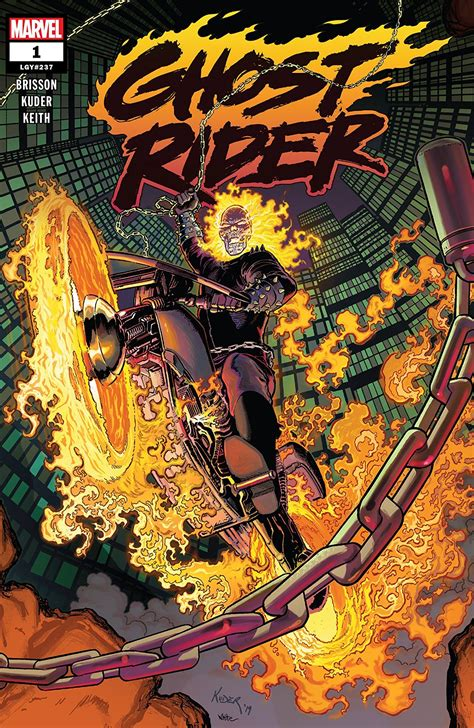 Comic Review: Ghost Rider  2019   #1   Sequential Planet