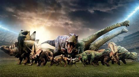 Comienza el Mundial y los dinosaurios forman su equipo