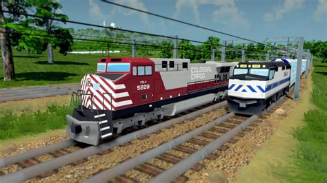 Coming soon: My take on a US style freight train ...
