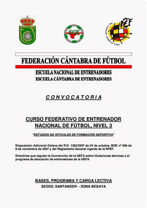 COMITÉ Y ESCUELA DE ENTRENADORES DE FÚTBOL FEDERACIÓN ...