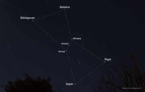 Comment observer la constellation d Orion ?   Astronomie ...
