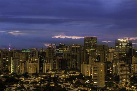Commercial buildings in Brooklin Novo, Sao Paulo, Brazil ...