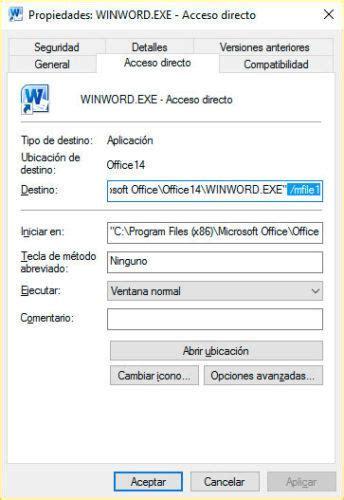 Cómo abrir el último documento Word automáticamente