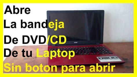 Como Abrir la Bandeja de DVD de una Laptop Acer   YouTube