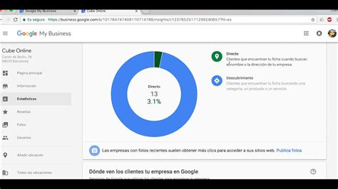 ¿Cómo acceder a mi ficha de My Business de Google?   YouTube