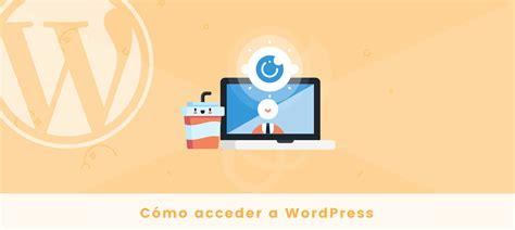 Cómo Acceder a WordPress a través de wp admin « SrMomo