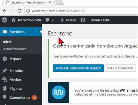 Cómo acceder al Panel de Administración de WordPress ...