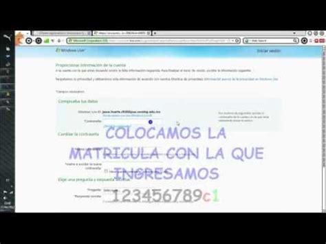 Como Activar Cuenta Conalep  TIPS    YouTube