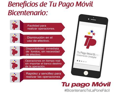 Cómo Afíliarse a pago móvil del Banco Bicentenario ...