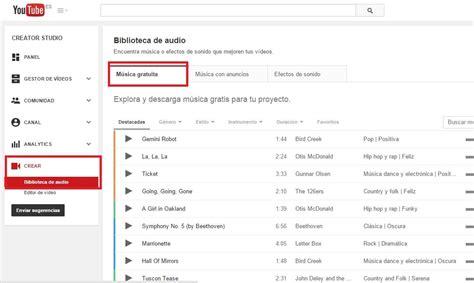 Como añadir música a tus videos de Youtube sin infringir ...