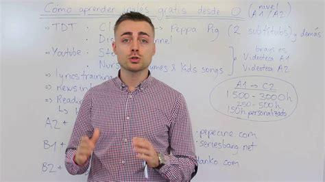 Cómo aprender inglés gratis desde 0 en casa   YouTube