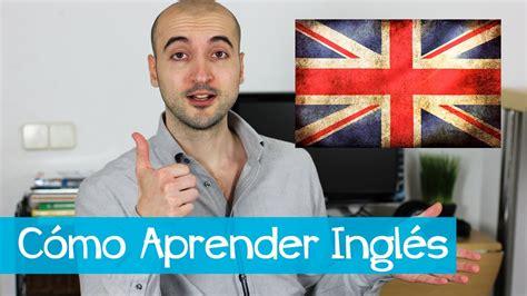 Cómo Aprender Inglés  por tu cuenta    YouTube