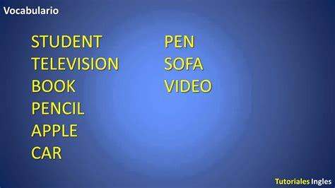 Cómo aprender Ingles rápido y fácil Lección 1   YouTube