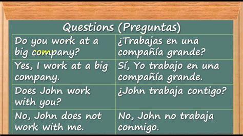 Cómo Aprender Inglés   Rápido y Fácil   Preguntas en ...