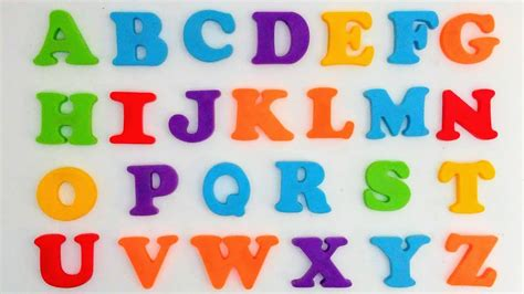 Como Aprender o Abecedário | Brincando com o Alfabeto ...