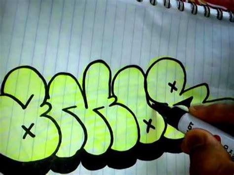 Como aser un graffiti con la palabra amor   YouTube