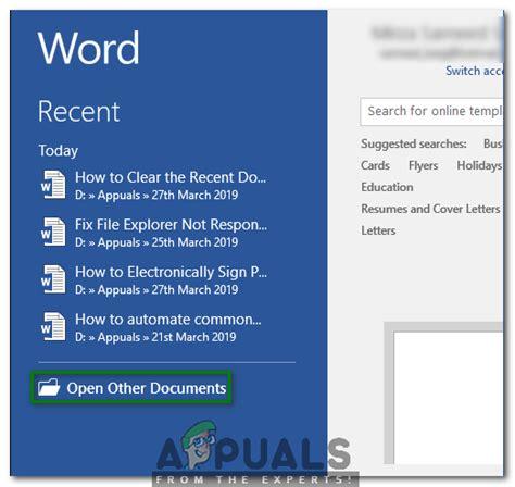 Cómo borrar o desactivar la lista de documentos recientes ...