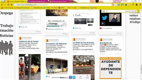 ¿Cómo buscar ofertas de trabajo en Canarias Despega?   YouTube
