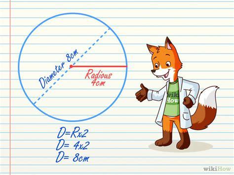 Cómo calcular el diámetro de un círculo: 8 pasos