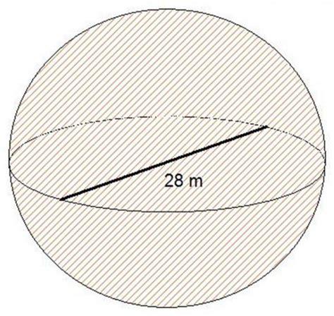 Cómo calcular el volumen de una esfera   4 pasos   unComo