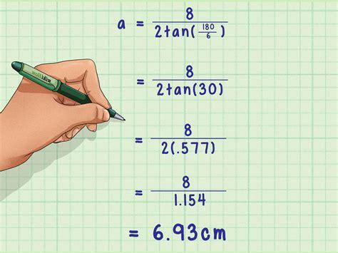 Cómo calcular la apotema de un hexágono: 15 pasos