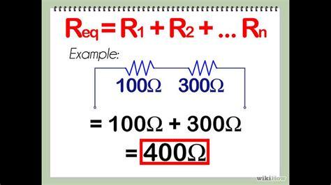 Cómo calcular resistencias en serie y en paralelo   YouTube