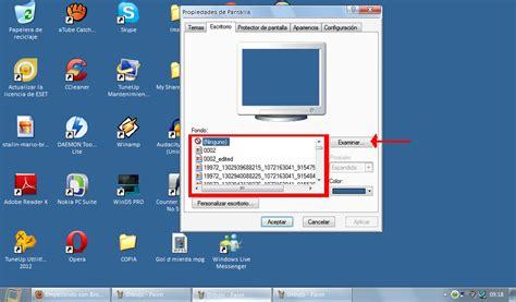 Como cambiar el fondo de escritorio [Windows XP]   Hazlo ...