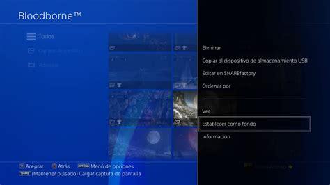 Cómo cambiar el fondo de pantalla de PS4 con el firmware 4 ...