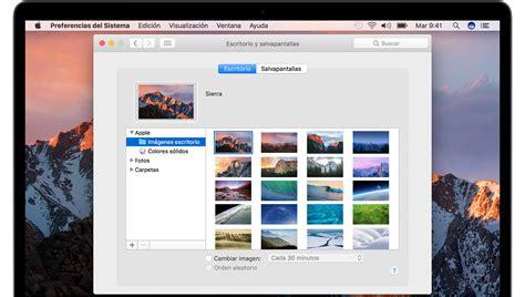 Cómo cambiar el fondo de pantalla del Mac   Soporte ...