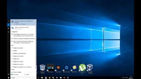 Como cambiar el fondo de pantalla en Windows 10   YouTube