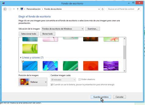 Cómo cambiar el fondo del escritorio en Windows   TecniComo