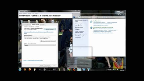 Cómo cambiar el idioma a Windows 7 [HD]   YouTube